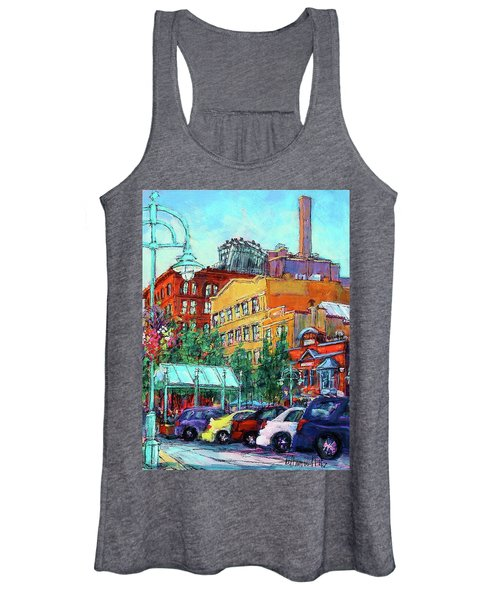 Up On Broadway Women's Tank Top