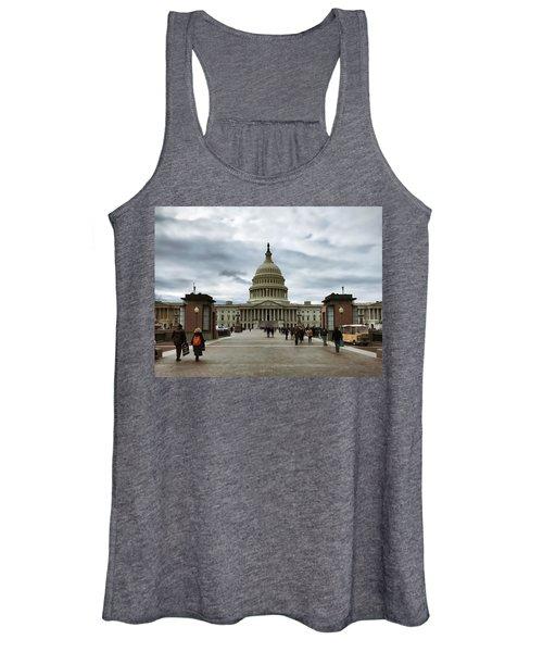 U.s. Capitol Building Women's Tank Top