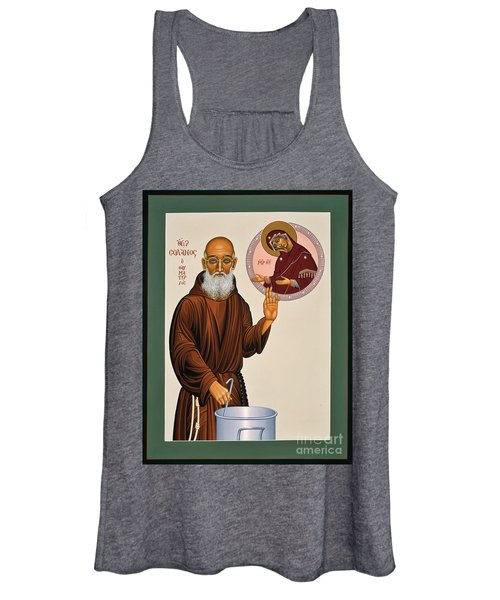 Venerable Fr. Solanus Casey The Healer 038 Women's Tank Top
