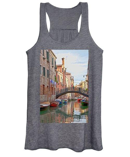 Venice Bridge Crossing 5 Women's Tank Top