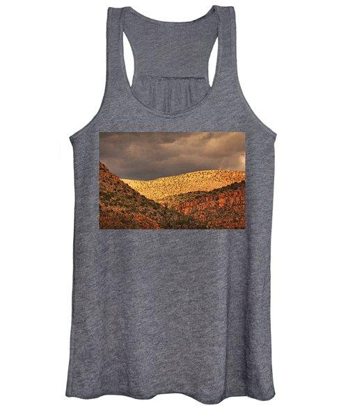 Verde Canyon View Txt Women's Tank Top