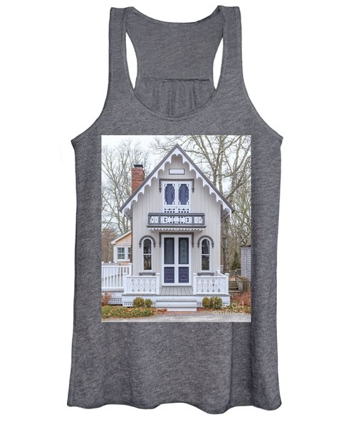 Victorian Cottage On Cape Cod Women's Tank Top
