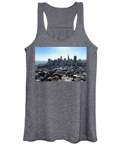 View From Coit Tower Women's Tank Top