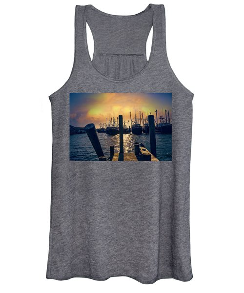 View From The Dock Women's Tank Top