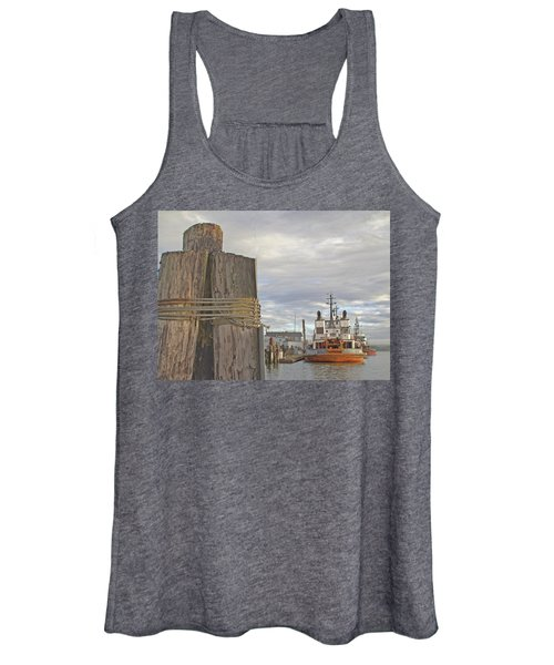 View From The Pilings Women's Tank Top