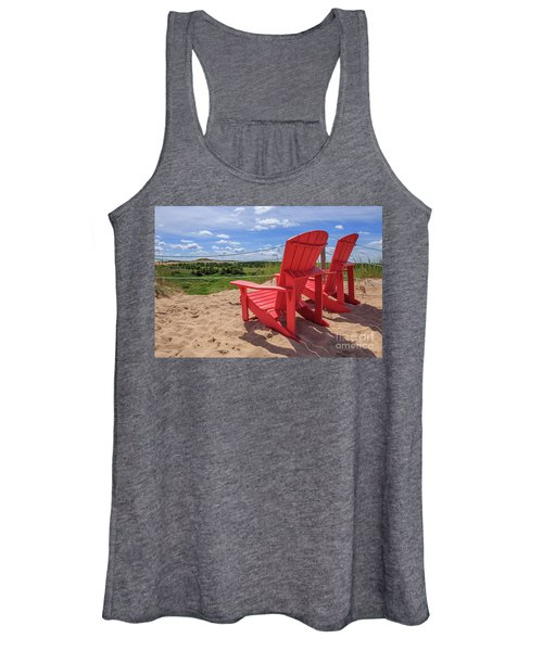 View From The Sand Dunes Women's Tank Top
