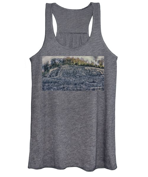 View Of A Quarry Women's Tank Top