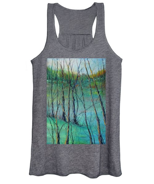 View Of Nature's Canvas Women's Tank Top
