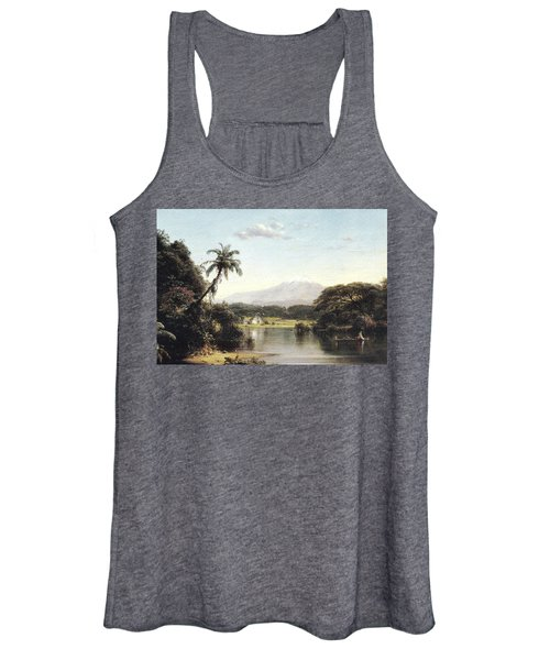 View On The Magdalena River Women's Tank Top