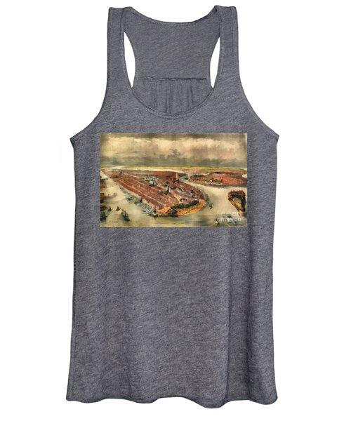 Vintage Manhattan Island Women's Tank Top