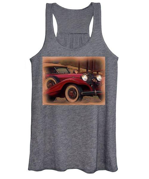 Vintage Mercedes Women's Tank Top