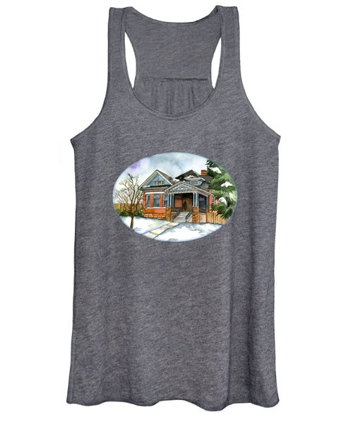 Vintage Winter Women's Tank Top
