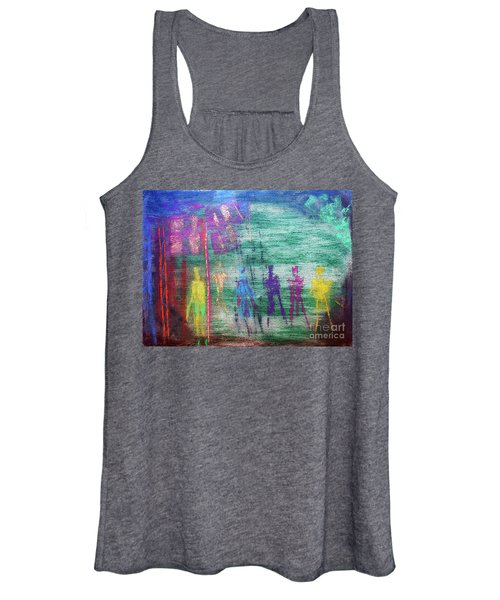 Visions Of Future Beings Women's Tank Top