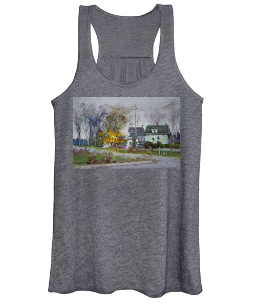 Waiting For First Snowfall Women's Tank Top