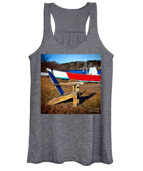 Waiting For Spring In Maine Women's Tank Top