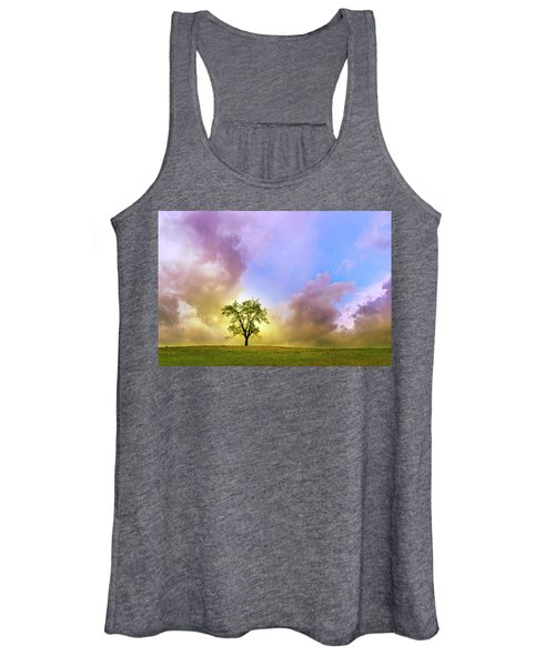 Waiting For The Storm Women's Tank Top