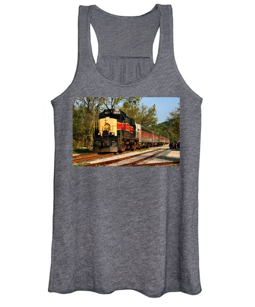 Waiting For The Train Women's Tank Top