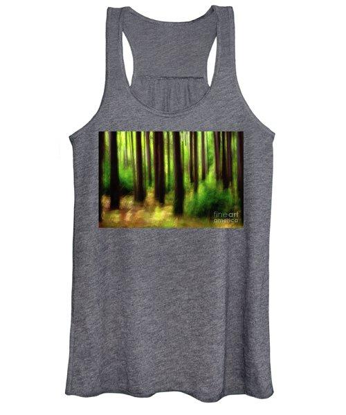 Walking In The Woods Women's Tank Top