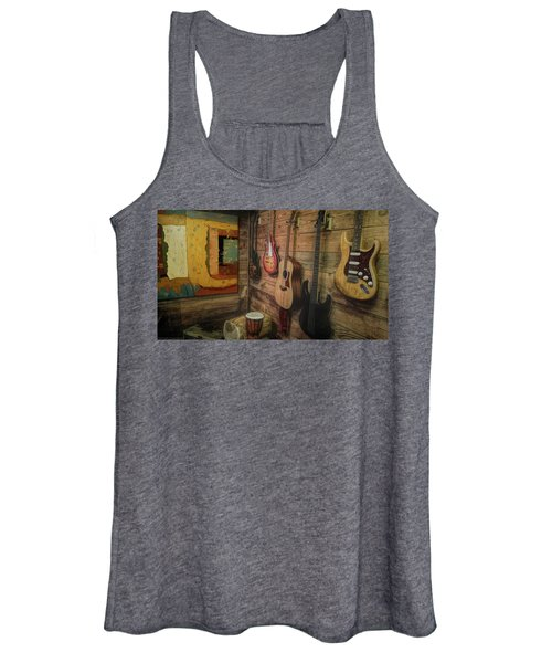 Wall Of Art And Sound Women's Tank Top