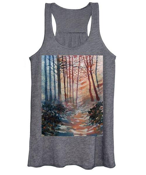 Wander In The Woods Women's Tank Top