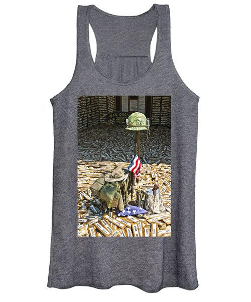 War Dogs Sacrifice Women's Tank Top