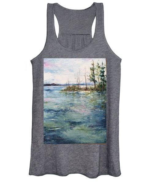 Washed By The Waters Series Women's Tank Top