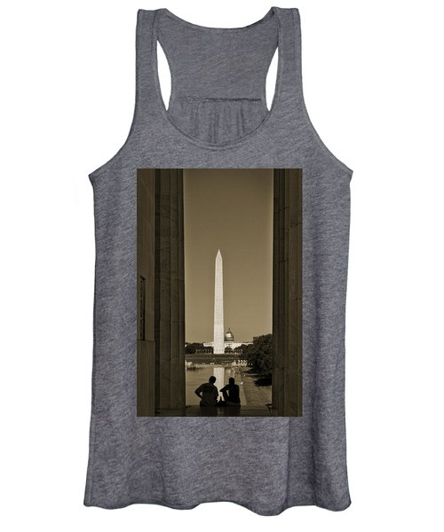 Washington Monument And Capitol #4 Women's Tank Top