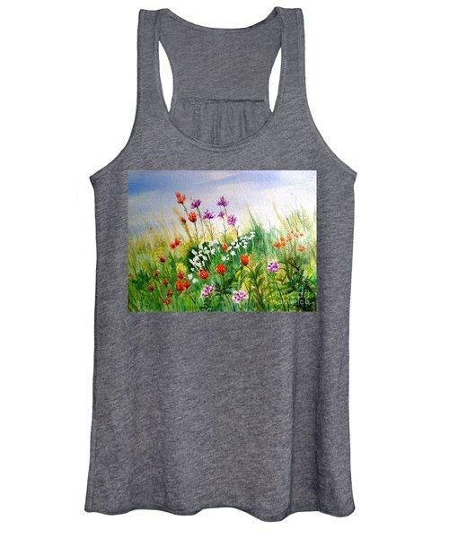 Washington Wildflowers Women's Tank Top