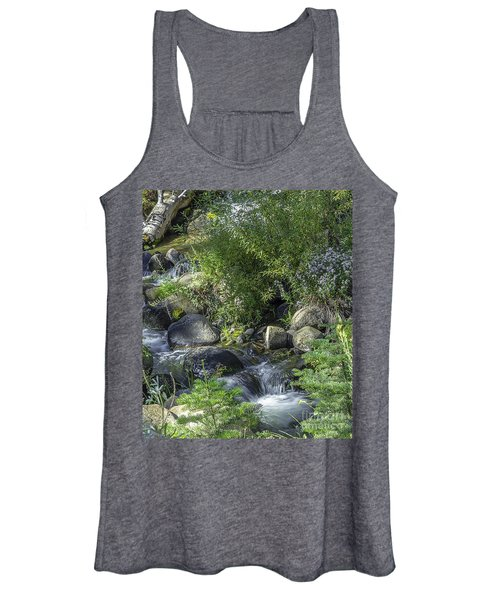 Water And Wildflowers Women's Tank Top