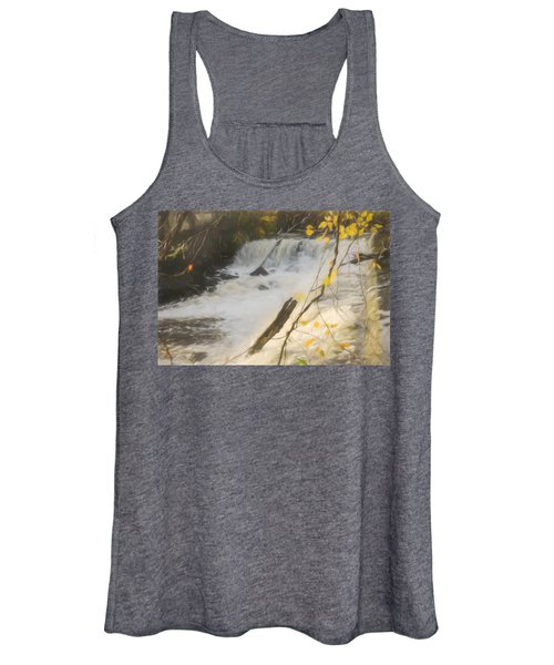 Water Over The Dam. Women's Tank Top