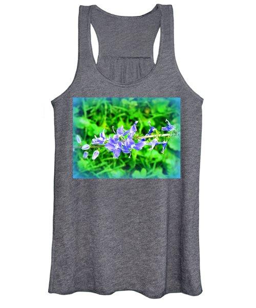 Watercolor Blooms Women's Tank Top