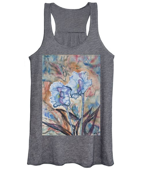 Watercolor - Orchid Impression Women's Tank Top