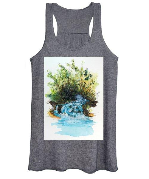 Waterfall Women's Tank Top