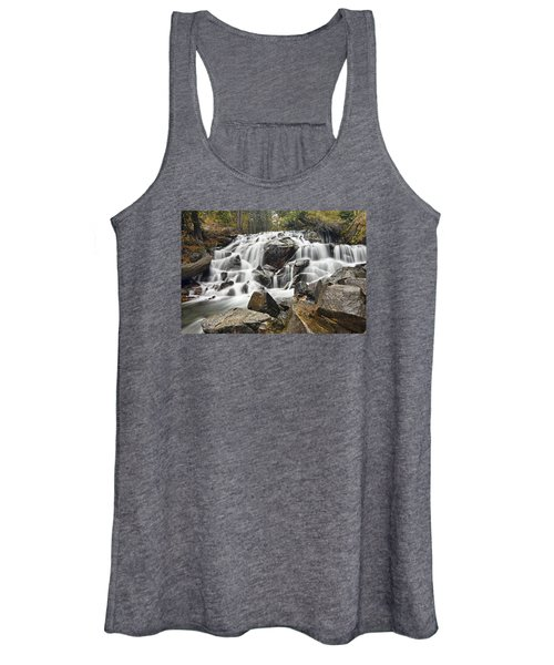 Waterfall In Lee Vining Canyon Women's Tank Top