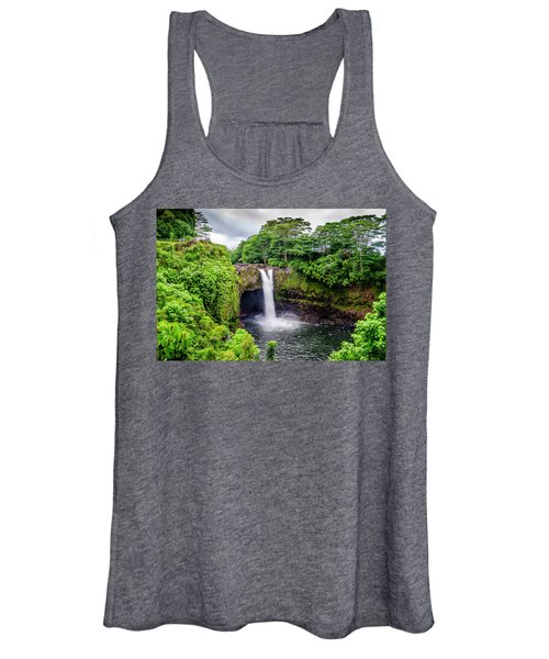 Waterfall Into The Valley Women's Tank Top