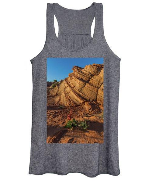 Waterhole Canyon Evening Solitude Women's Tank Top