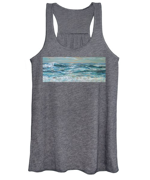 Waves And Wind Women's Tank Top