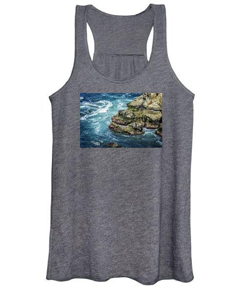 Waves Of Blue Women's Tank Top
