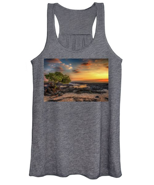 Wawaloli Beach Sunset Women's Tank Top