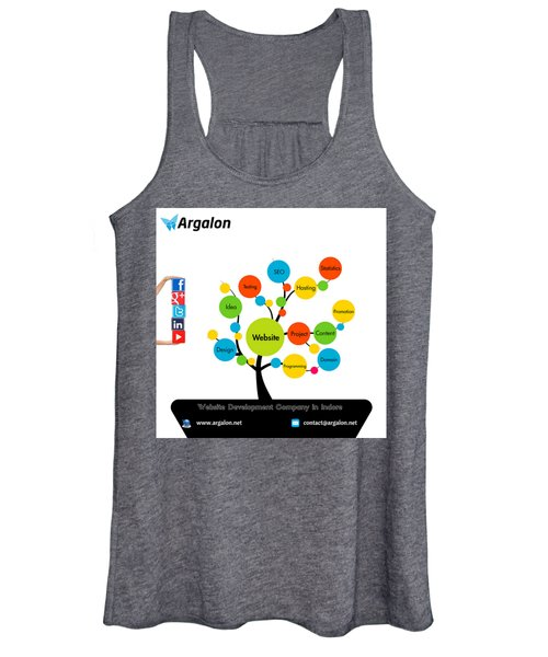Website Development Company In Indore Women's Tank Top
