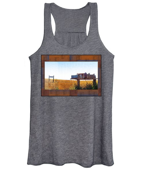 Welcome To Portage Population-6 Women's Tank Top