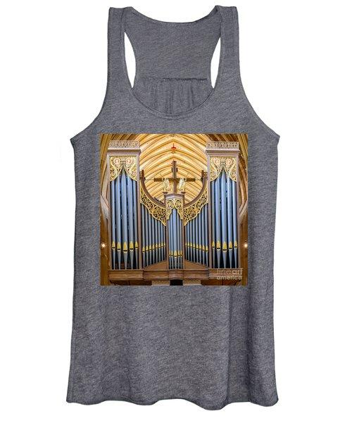 Wells Cathedral Organ Women's Tank Top