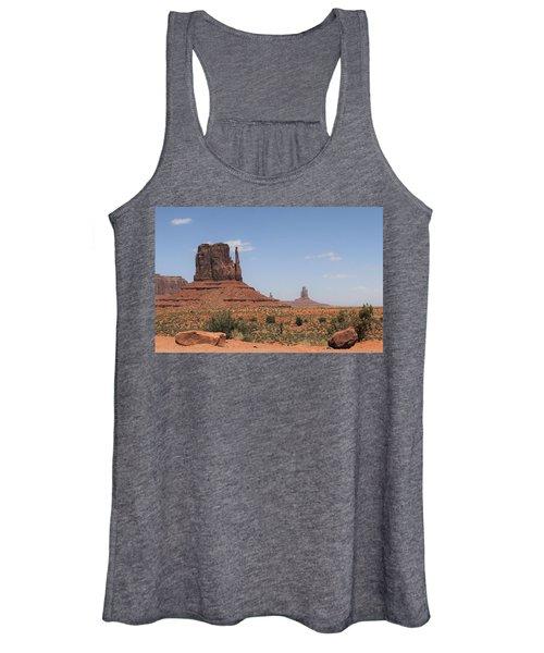 West Mitten Butte Monument Valley Women's Tank Top