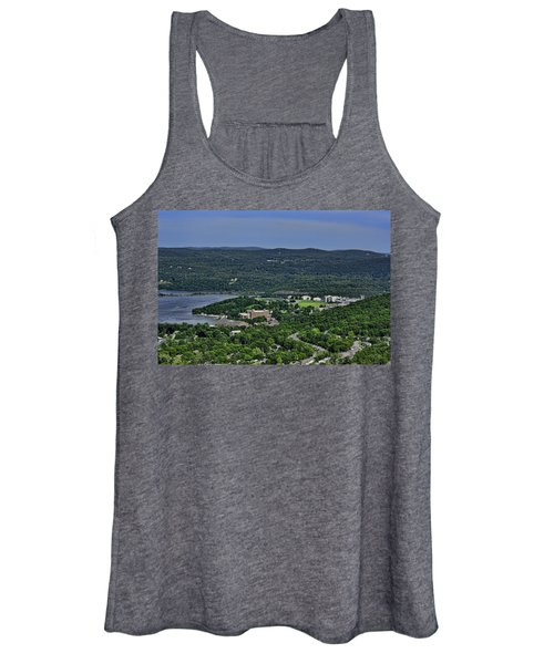 West Point From Storm King Overlook Women's Tank Top