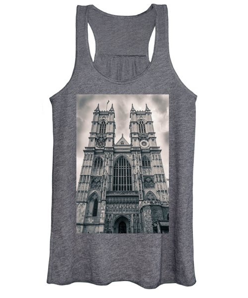 Westminister Abbey Bw Women's Tank Top