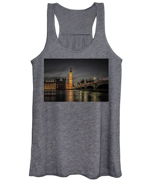 Westminster At Night Women's Tank Top