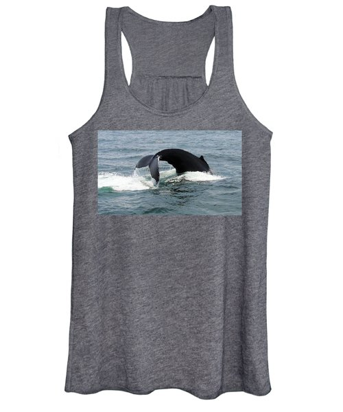 Whale Of A Tail Women's Tank Top