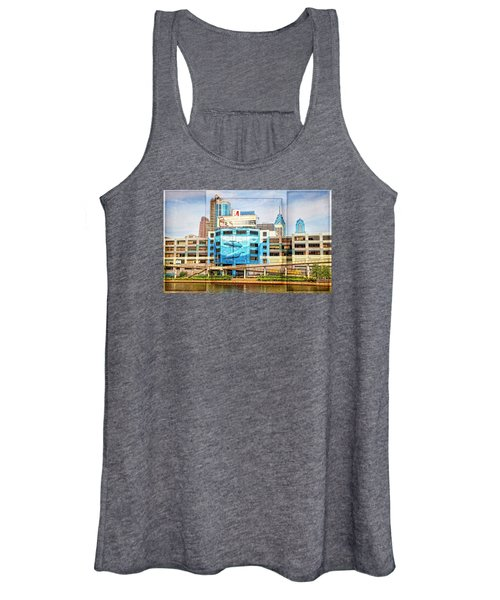 Whales In The City Women's Tank Top