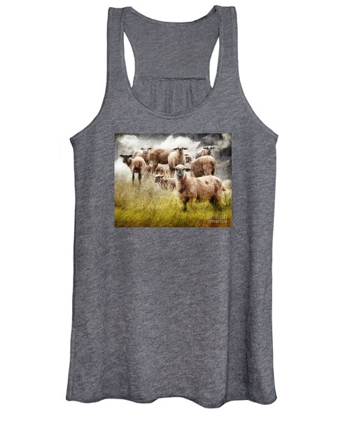 What You Lookin' At? Women's Tank Top