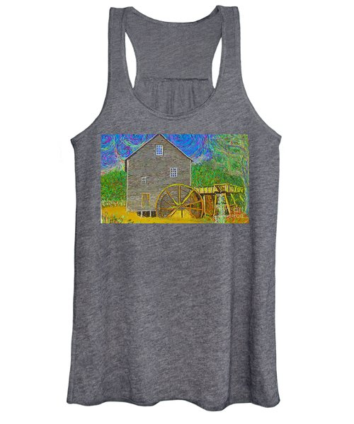 Water Wheel  Women's Tank Top